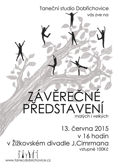 Závěrečné představení v Žižkovském divadle 13.6. 2015